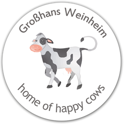 Hof der Familie Großhans - Home of Happy Cows - 24/7 Milch-Tankstelle